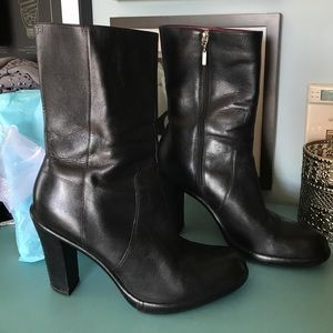 Tommy Hilfiger mid calf boots